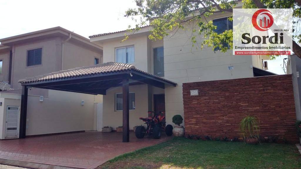 Sobrado com 3 dormitórios à venda, 285 m² por R$ 1.350.000 - Jardim Nova Aliança Sul - Ribeirão Preto/SP