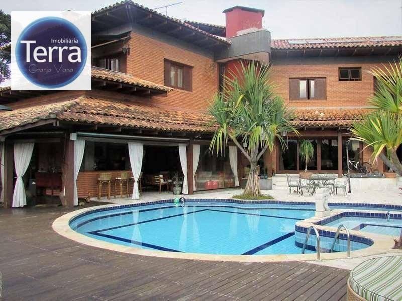 Casa com 4 dormitórios à venda, 850 m² por R$ 3.900.000 - Palos Verdes - Granja Viana
