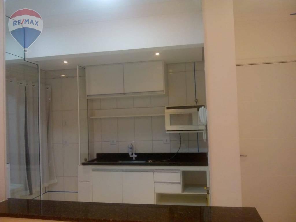 Apartamento com 1 dormitório para alugar, 60 m² por R$ 1.100/mês - Jardim Alvinópolis - Atibaia/SP