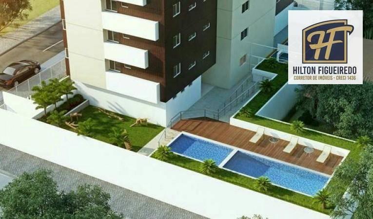 Apartamento à venda, 79 m² por R$ 342.900 - Jardim Cidade Un