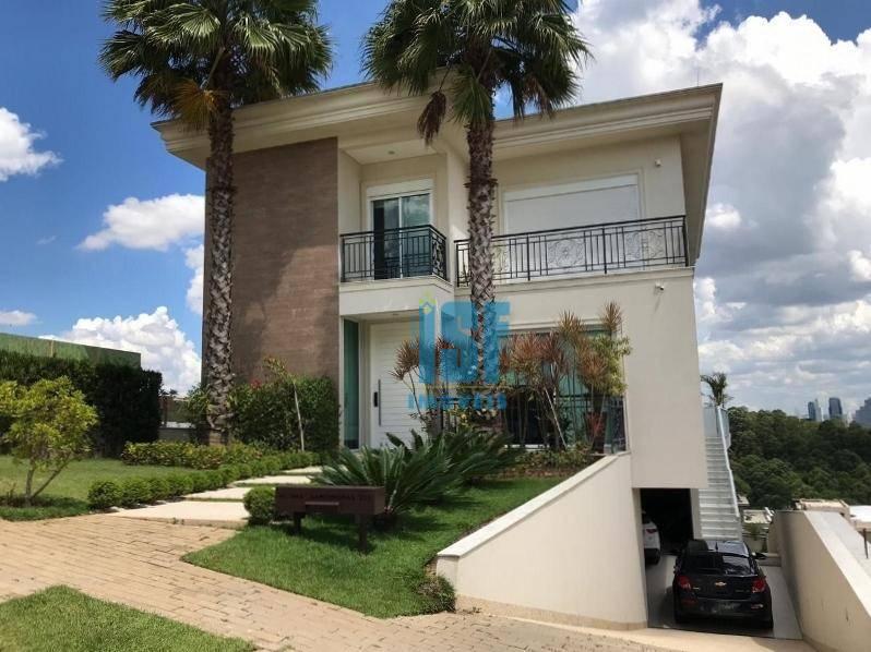 Casa com 4 dormitórios à venda, 513 m² por R$ 5.000.000 - Tamboré - Santana de Parnaíba/SP - CA1340.