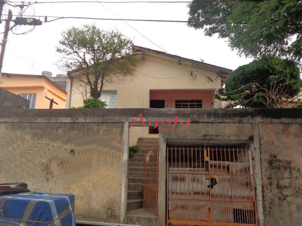 Terreno à venda, 250 m² por R$ 370.000 - Parque João Ramalho - Santo André/SP
