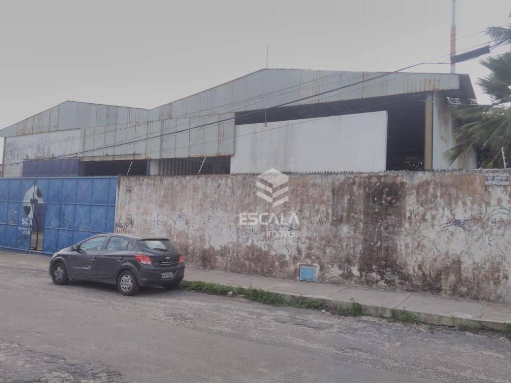 Galpão à venda, 1144 m² por R$ 1.300.000 - Barra do Ceará - Fortaleza/CE