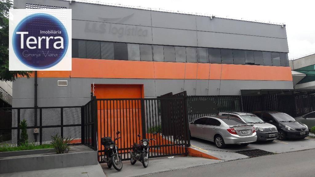 Galpão industrial para locação, Parque Industrial San José, Granja Viana.