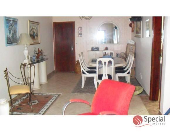 Apartamento de 3 dormitórios à venda em Vila Tupi, Praia Grande - SP