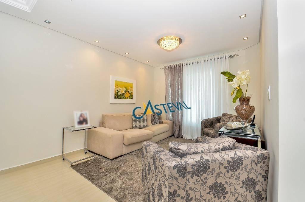 SO0041-CST, Sobrado de 3 quartos, 192 m² à venda no Santa Felicidade - Curitiba/PR