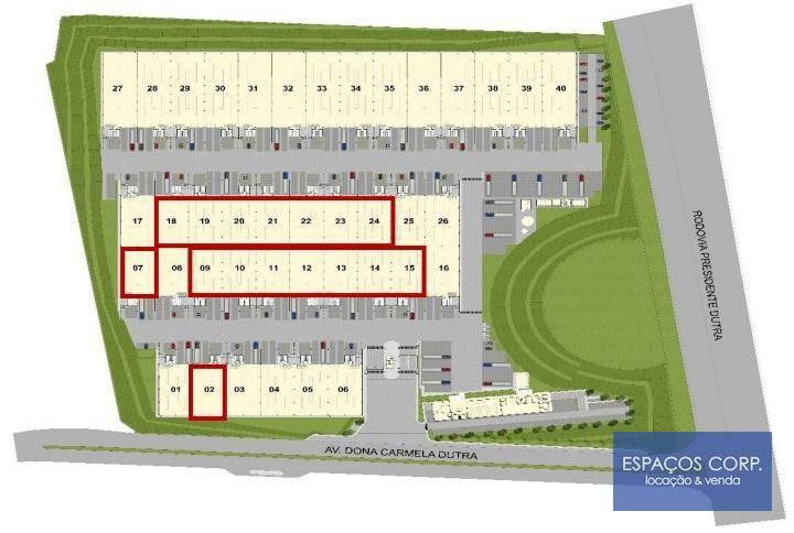 Galpão para alugar, 1426 m² - Jardim Presidente Dutra - Guarulhos/SP