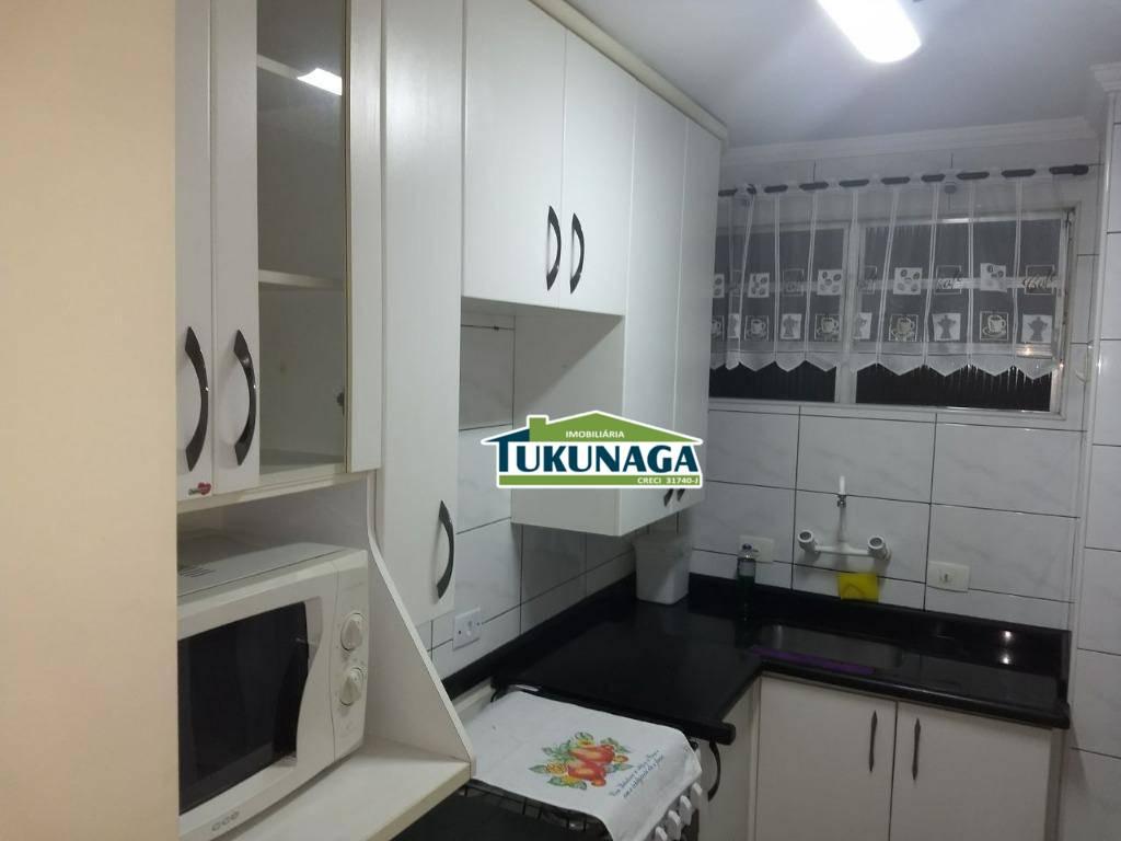 Apartamento residencial para locação 100% mobiliado, Gopoúva, Guarulhos.