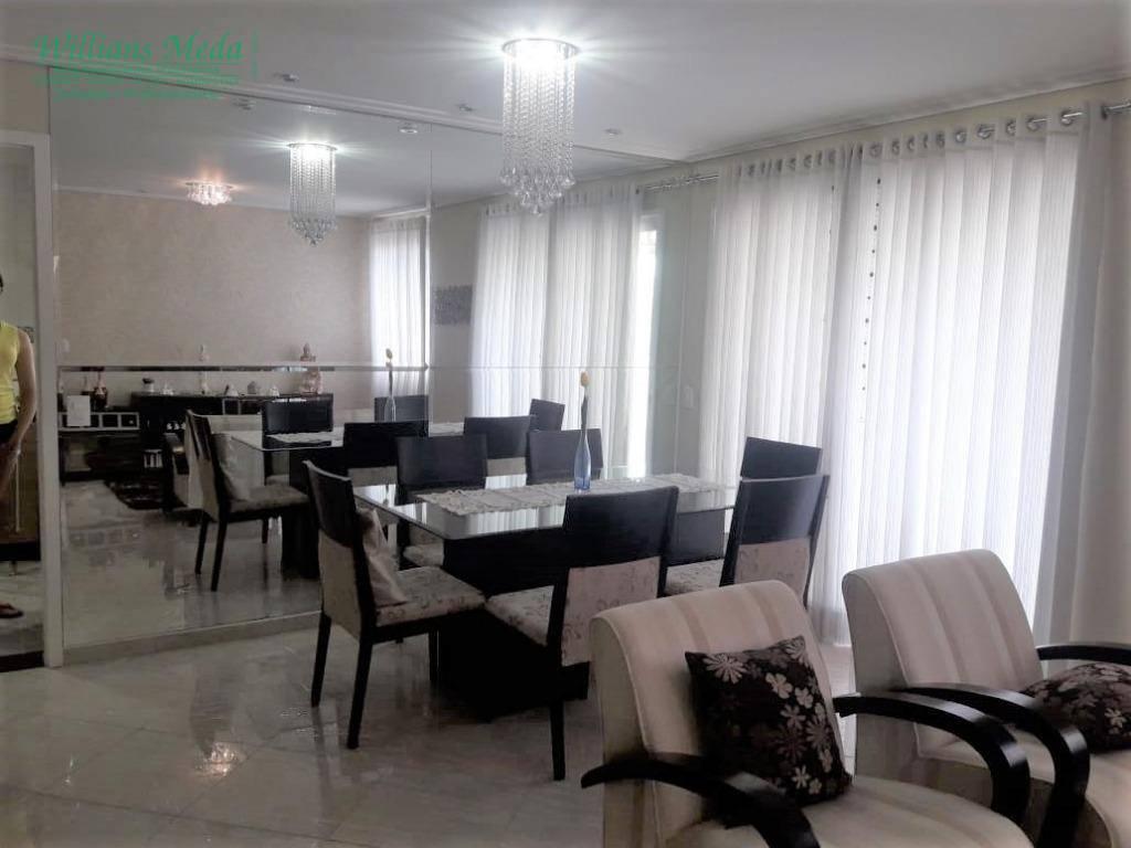 Apartamento com 3 dormitórios à venda, 115 m² por R$ 660.000 - Vila Santo Antônio - Guarulhos/SP