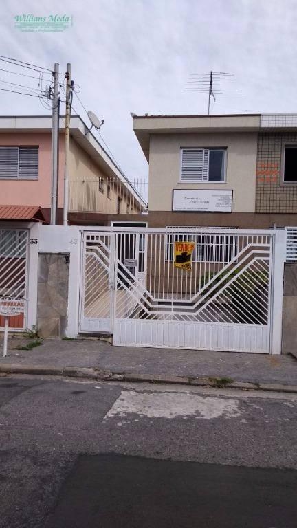 Sobrado residencial à venda, Parque Novo Mundo, São Paulo.