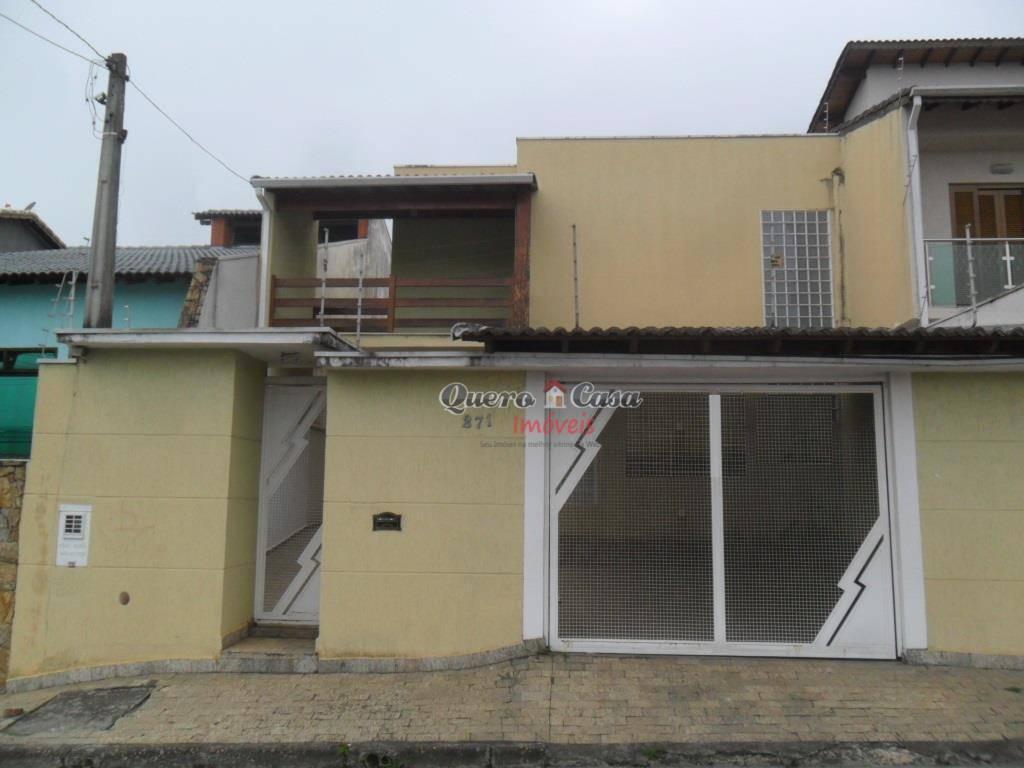 Sobrado com 3 dormitórios à venda, 170 m² por R$ 600.000 - V