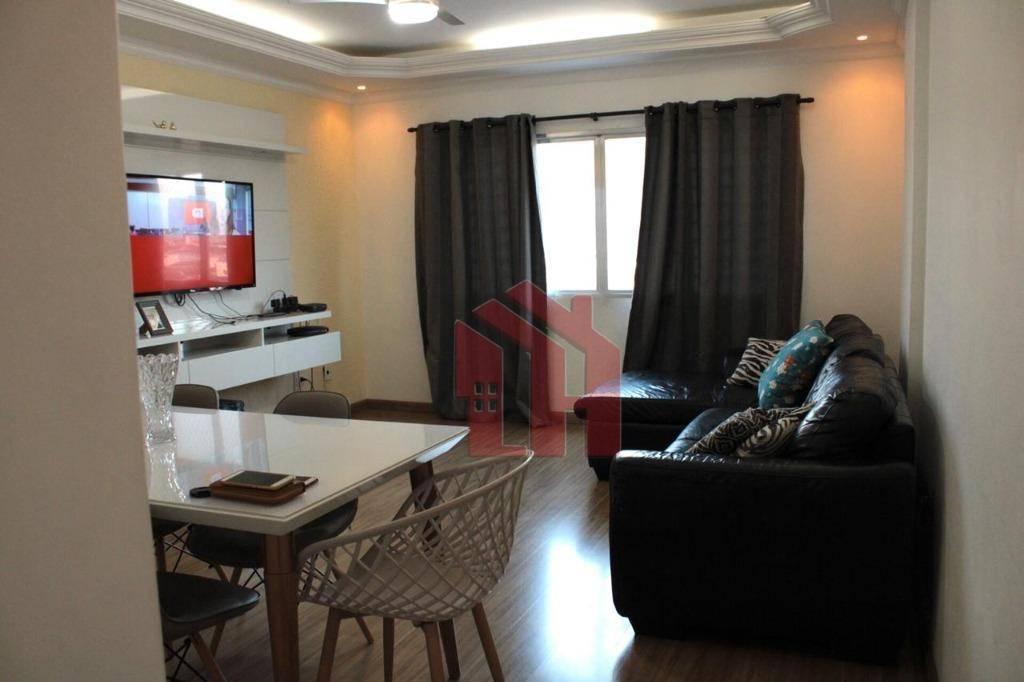 Apartamento à venda, 82 m² por R$ 298.000,00 - Jardim Guassu - São Vicente/SP
