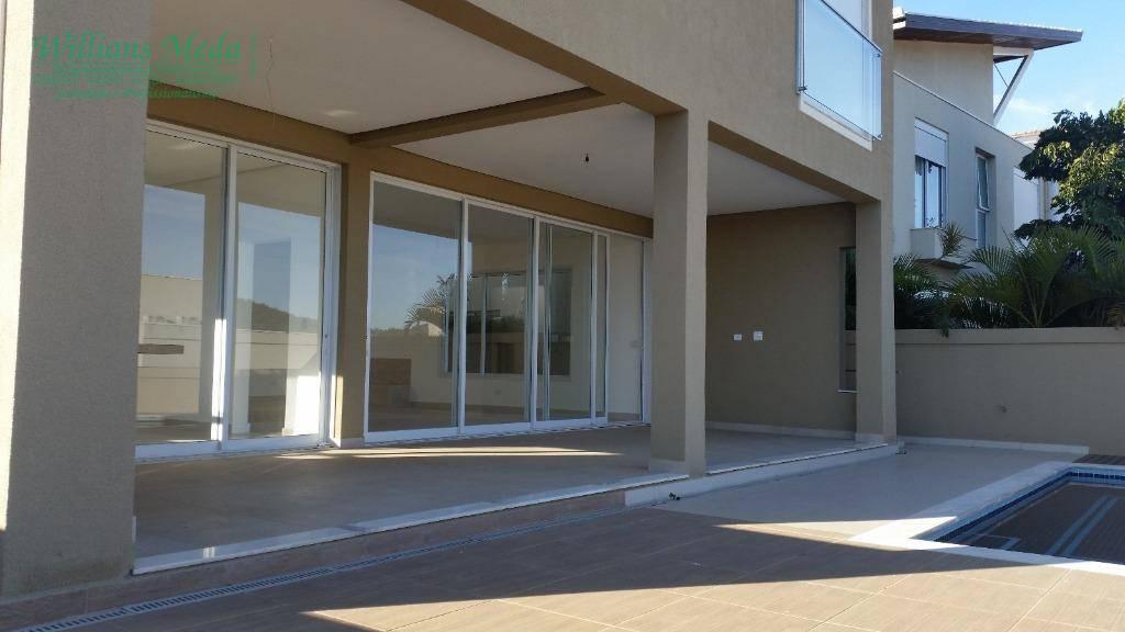 Sobrado residencial à venda, 4 dormitórios, 8 vagas, Alphaville, Santana de Parnaíba.