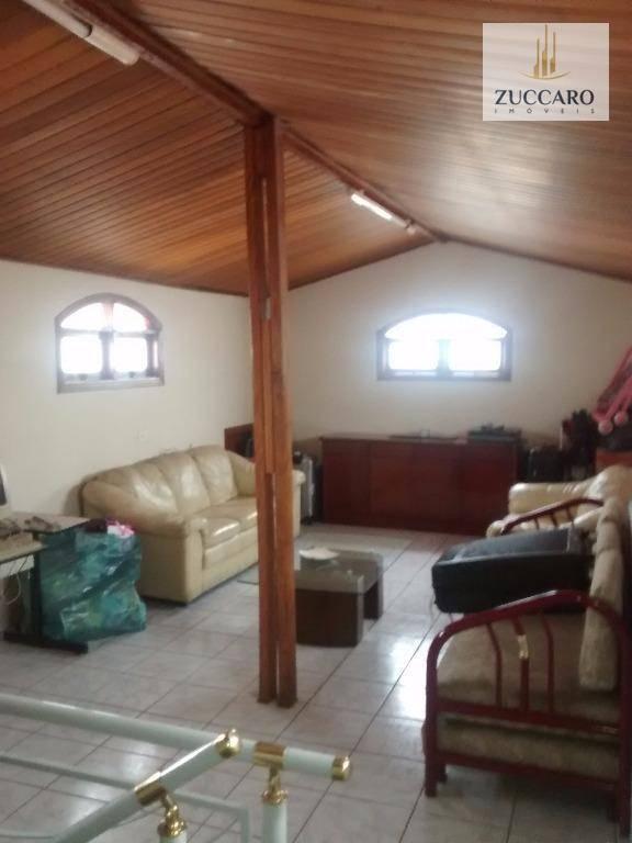 Sobrado de 4 dormitórios à venda em Parque Renato Maia, Guarulhos - SP