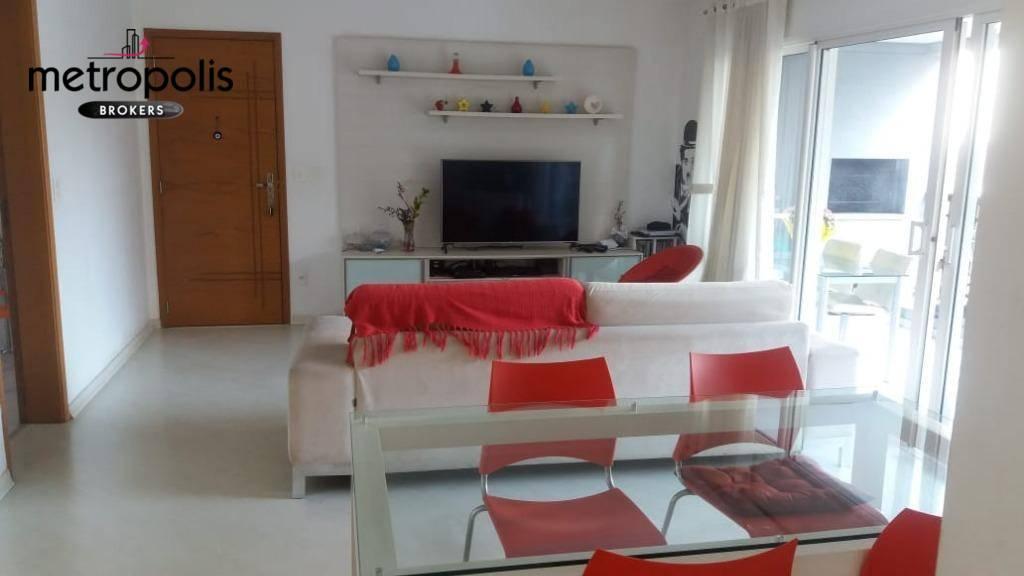 Apartamento com 3 dormitórios à venda, 133 m² por R$ 950.000,00 - Santo Antônio - São Caetano do Sul/SP