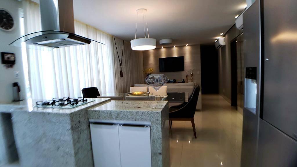 Apartamento 3 Suítes, 115 m² c/ armários no Jk Park Residence
