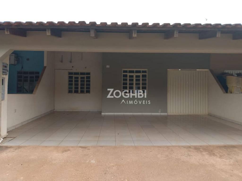 Casa com 2 dormitórios para alugar por R$ 1.100/mês - Novo Horizonte - Porto Velho/RO
