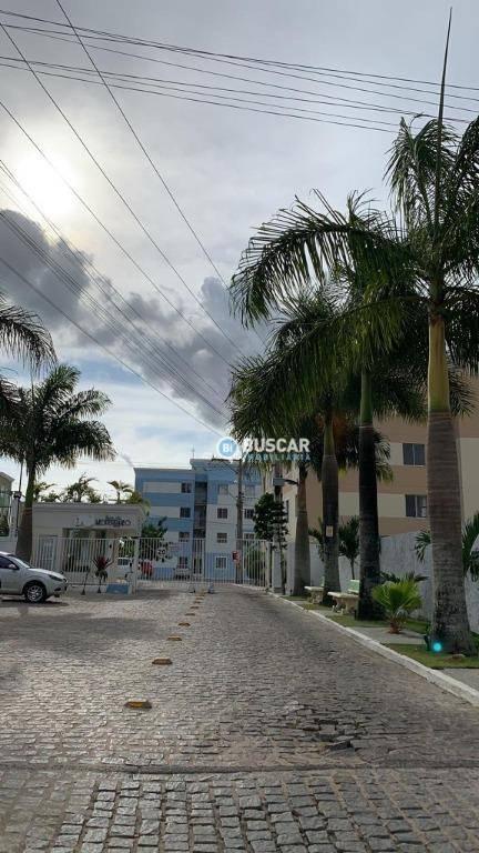 Apartamento com 2 dormitórios à venda, 53 m² por R$ 142.000 - Sim - Feira de Santana/BA