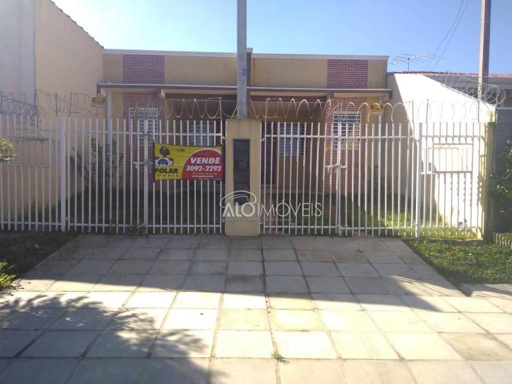 Casa no bairro Ganchinho com 2 dormitórios à venda, 45 m² por R$ 174.000 - Ganchinho - Curitiba/PR