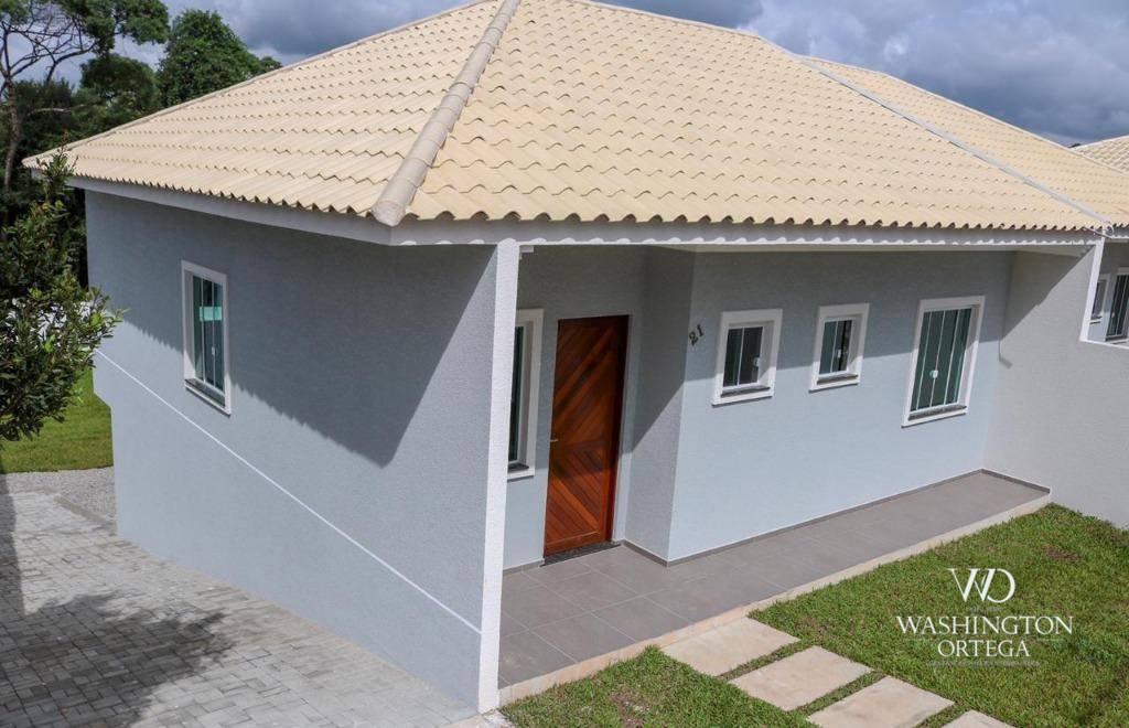 Casa com 3 dormitórios à venda, 69 m² por R$ 295.000 - Planta Meireles - Piraquara/PR