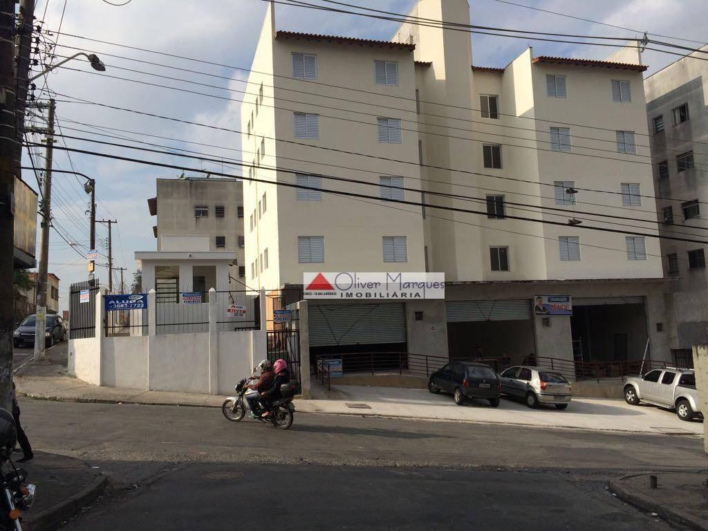 Apartamento residencial à venda, Parque José Alex André, Carapicuíba - AP5671.