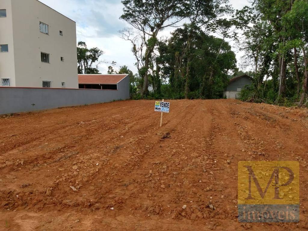 Terreno à venda, 500 m² por R$ 110.000,00 - Quinta dos Açorianos - Barra Velha/SC