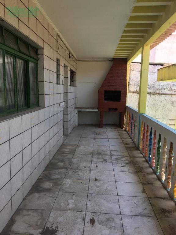 Casa comercial para locação, Jardim Paulista, Guarulhos.