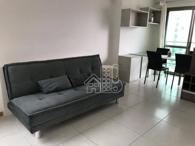 Loft com 1 dormitório à venda, 53 m² por R$ 720.000,00 - Icaraí - Niterói/RJ