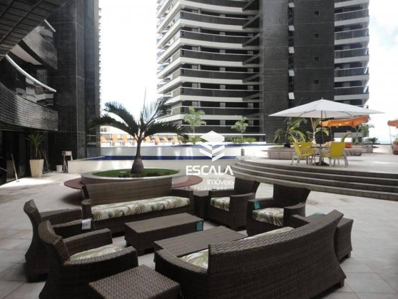 Apartamento com 1 dormitório para alugar, 40 m² por R$ 200,00/dia - Meireles - Fortaleza/CE