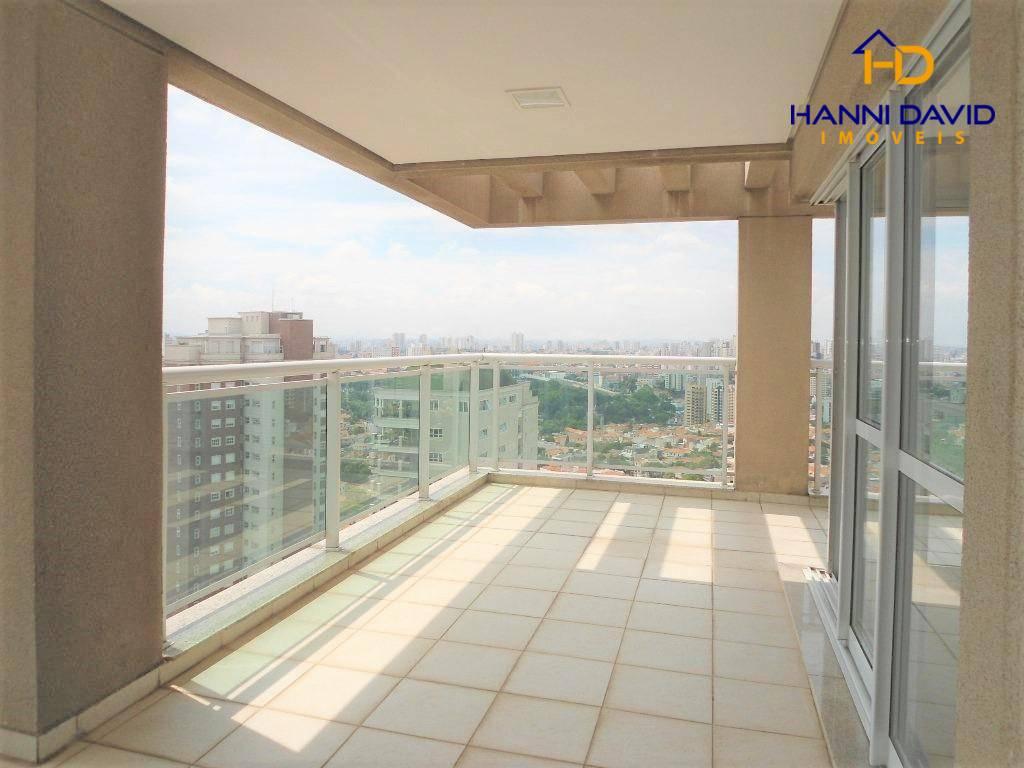 Magnífica Cobertura residencial à venda na Aclimação com 4 suítes, 7 vagas, Churrasqueira, Vista Infinita - 423 m²
