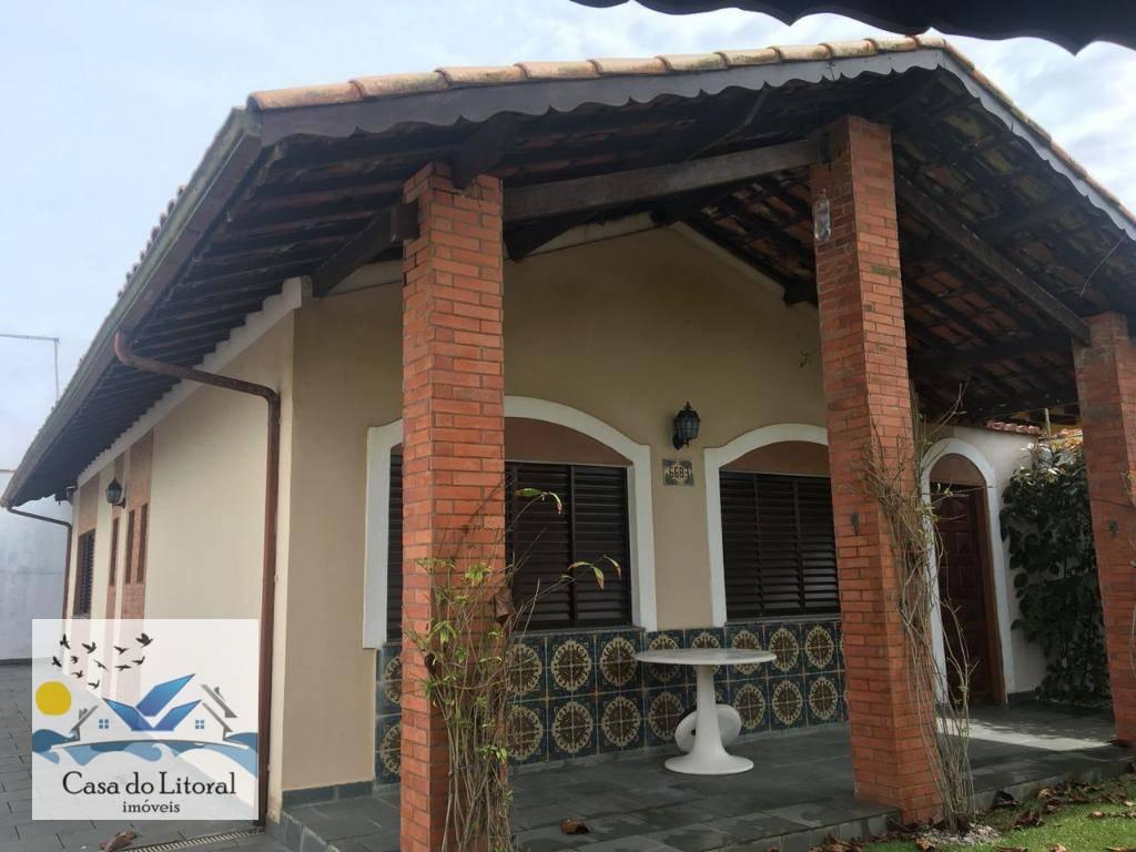 Casa residencial à venda, Jardim Suarão, Itanhaém.
