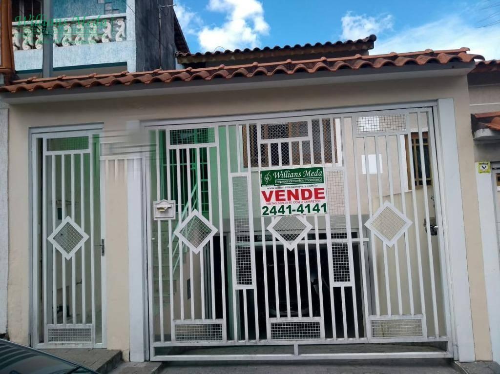 Sobrado com 3 dormitórios à venda, 190 m² por R$ 550.000 - Parque Continental II - Guarulhos/SP
