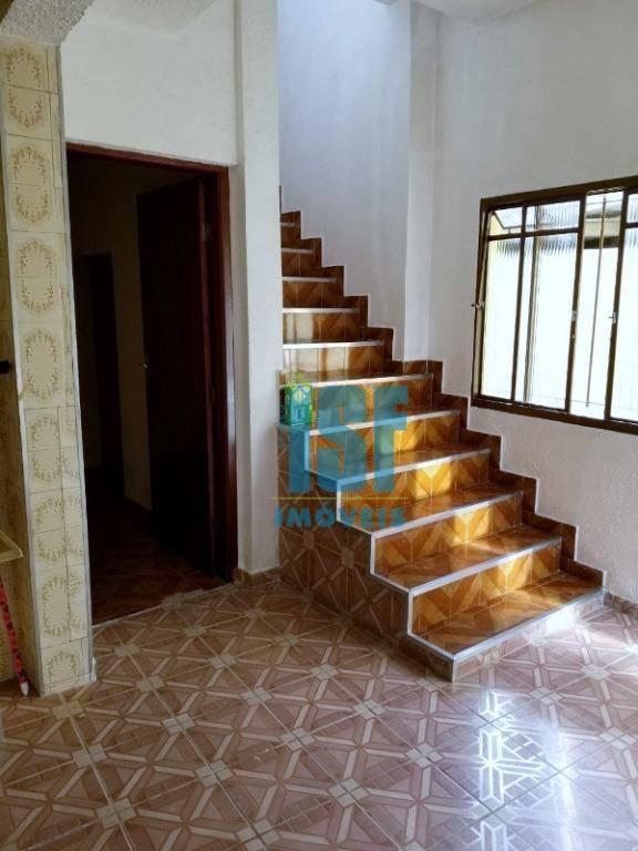 Casa com 3 dormitórios para alugar, 75 m² por R$ 1.600/mês - Jardim D Abril - Osasco/SP - CA1592.