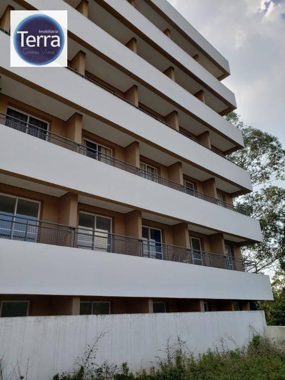 Studio com 1 dormitório para alugar, 30 m² por R$ 2.200/mês - Granja Viana - Granja Viana