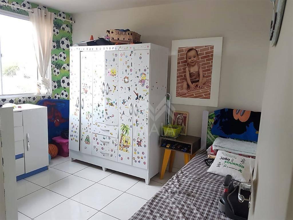 Ótimo Apartamento com 2 dormitórios à venda, 58 m² por R$ 13