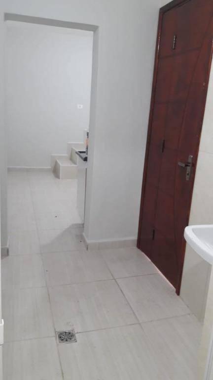 2 cômodos para alugar, 20 m² por R$ 550/mês - Vila Tibiriçá