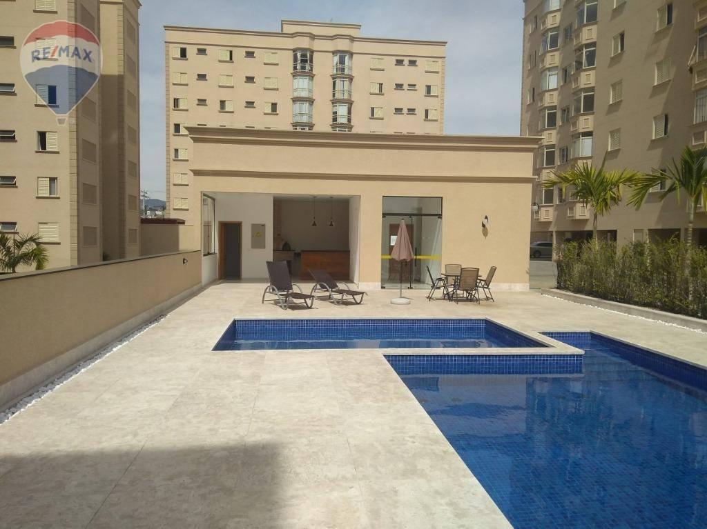 Apartamento com 3 dormitórios para alugar, 103 m² por R$ 2.200/mês - Atibaia Jardim - Atibaia/SP