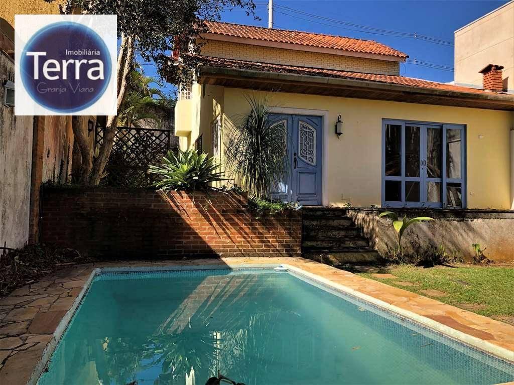 Casa com 3 dormitórios para alugar, 147 m² por R$ 3.700/mês - Jardim das Flores - Granja Viana