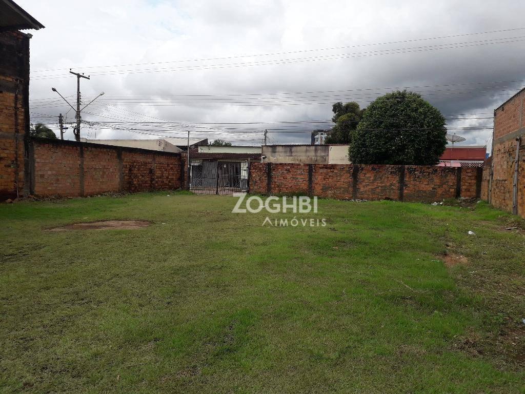 Terreno para alugar, 850 m² por R$ 1.800/mês - Olaria - Porto Velho/RO