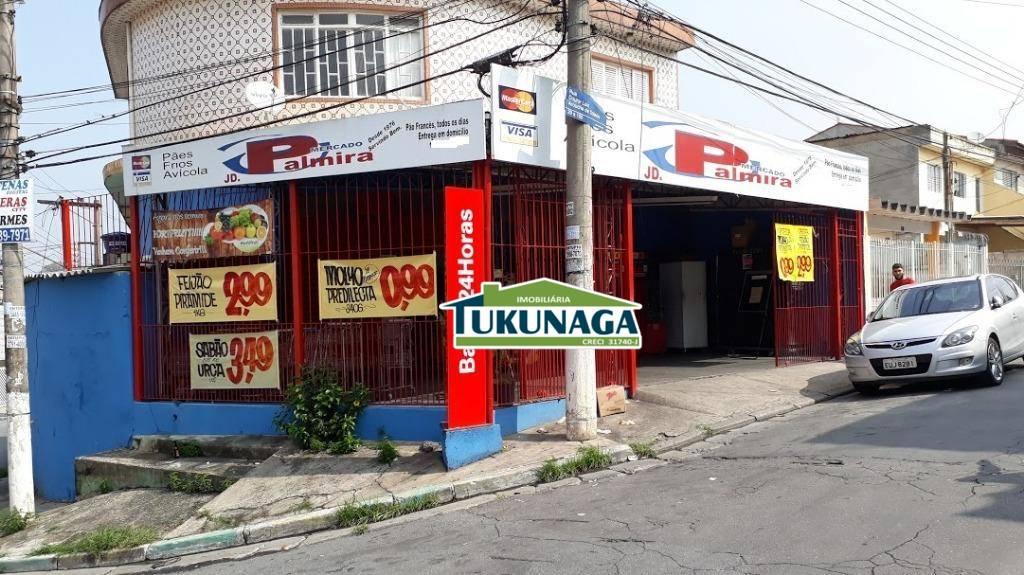 Loja comercial à venda, Jardim Palmira, Guarulhos.