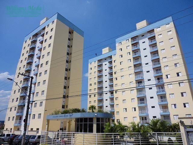 Apartamento com 2 dormitórios à venda, 47 m² por R$ 265.000,00 - Macedo - Guarulhos/SP