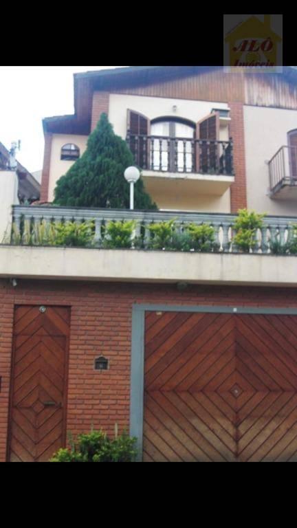 Sobrado com 3 dormitórios à venda, 256 m² por R$ 823.400 - Chora Menino - São Paulo/SP