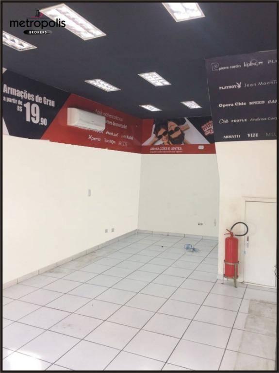Salão para alugar, 67 m² por R$ 2.600/mês - Centro - São Bernardo do Campo/SP
