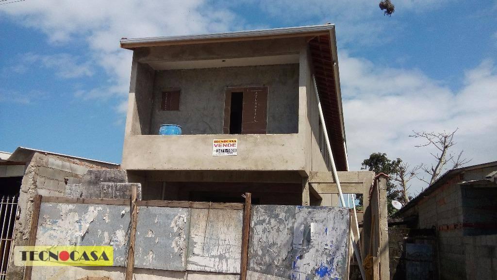 Casa residencial à venda, Jardim Melvi, Praia Grande - CA3186.