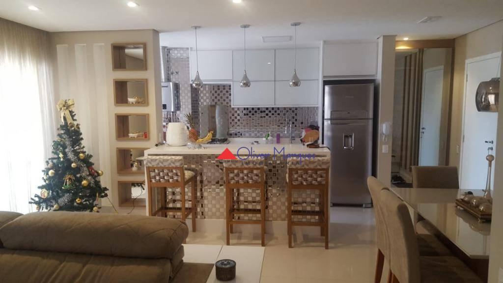 Apartamento com 2 dormitórios à venda, 83 m² por R$ 690.000,00 - Centro - Osasco/SP
