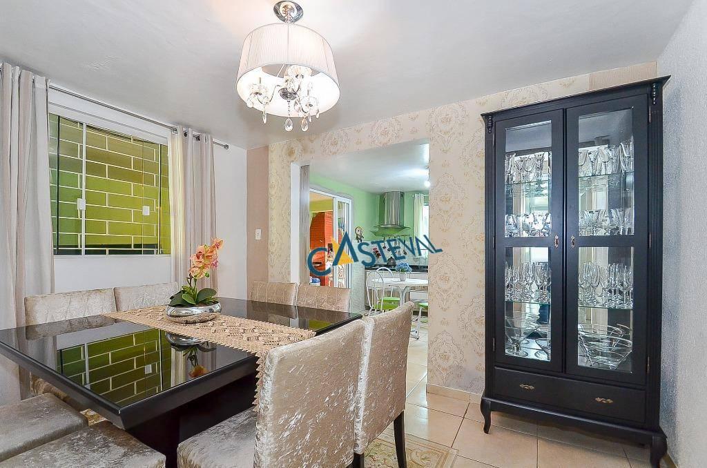 CA0136-CST, Casa de 3 quartos, 220 m² à venda no Bacacheri - Curitiba/PR