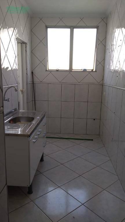 Apartamento com 2 dormitórios para alugar, 60 m² por R$ 1.000,00/mês - Gopoúva - Guarulhos/SP