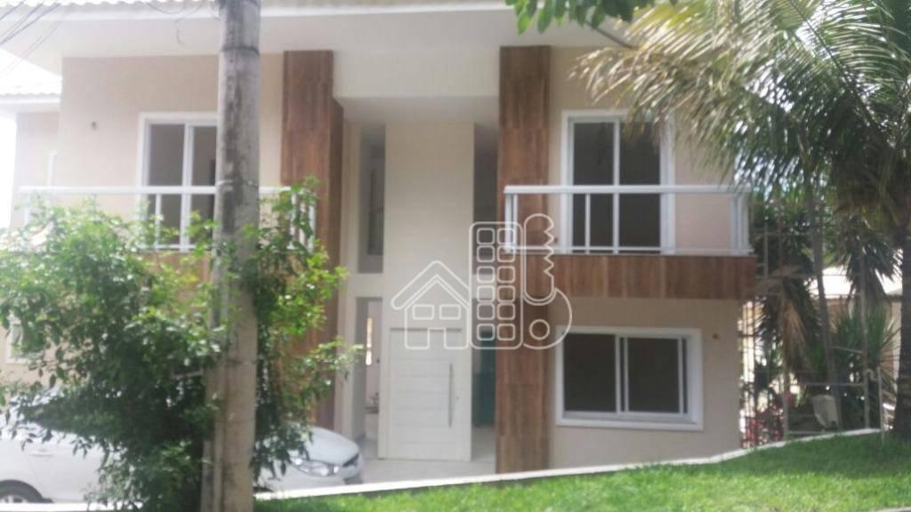 Casa com 4 dormitórios à venda, 280 m² por R$ 900.000,00 - Maria Paula - São Gonçalo/RJ