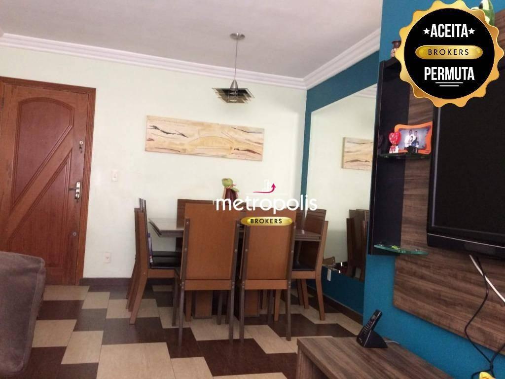 Apartamento à venda, 56 m² por R$ 215.000,00 - Parque São Vicente - Mauá/SP