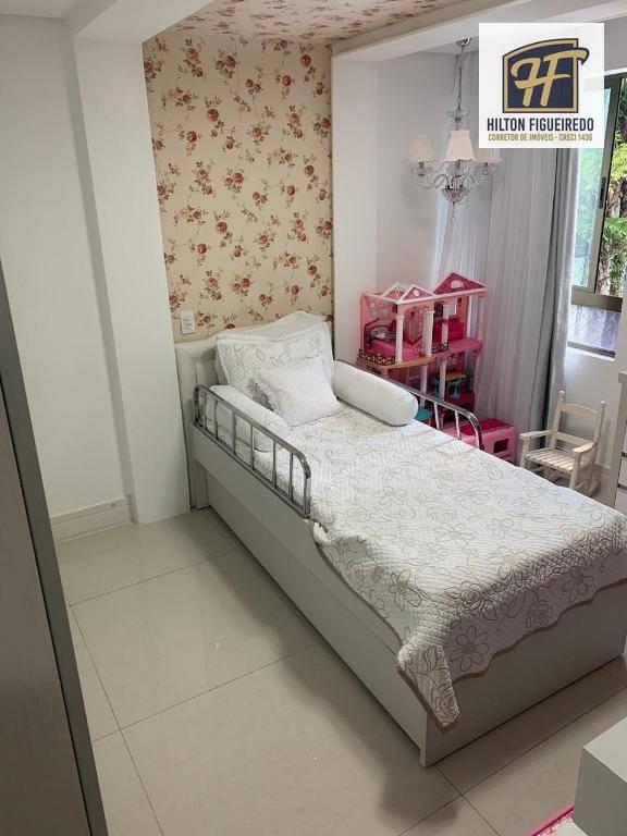 Apartamento com 4 suítes  à venda, 215 m² por R$ 1.400.000 - Ponta de Campina - Cabedelo/PB
